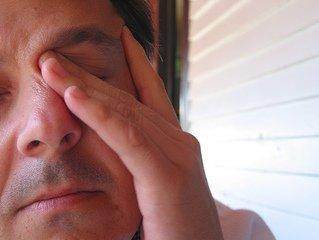 Fatigued eyes