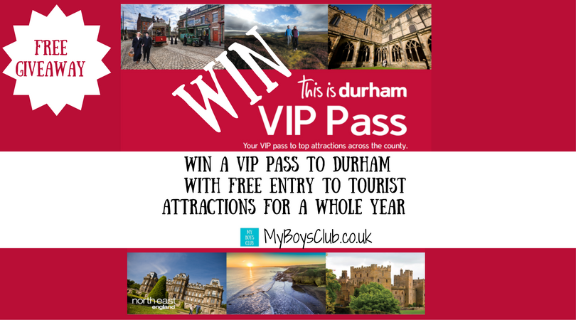 My Boys Club Win A Vip Pass To Durham With Free Entry To Tourist