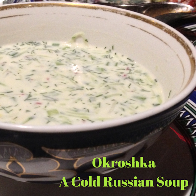 Russian Yogurt soup