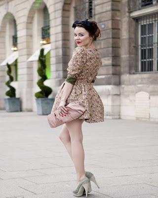 vestido vintage tumblr