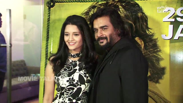 Rithika Singh with Madhavan Photoshoot at the Iruthi Sutru Success Meet