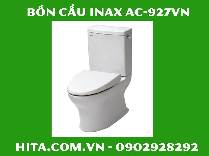 Giá, đặc điểm, kích thước bồn cầu Inax AC-927VN