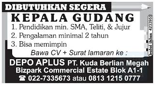 Loker PT. Kuda Berlian Megah Bandung