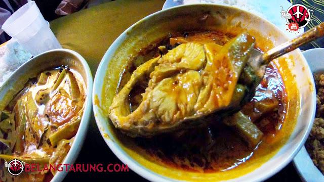 Ikan Jenahak Gulai Dengan Bendi dan Tomato