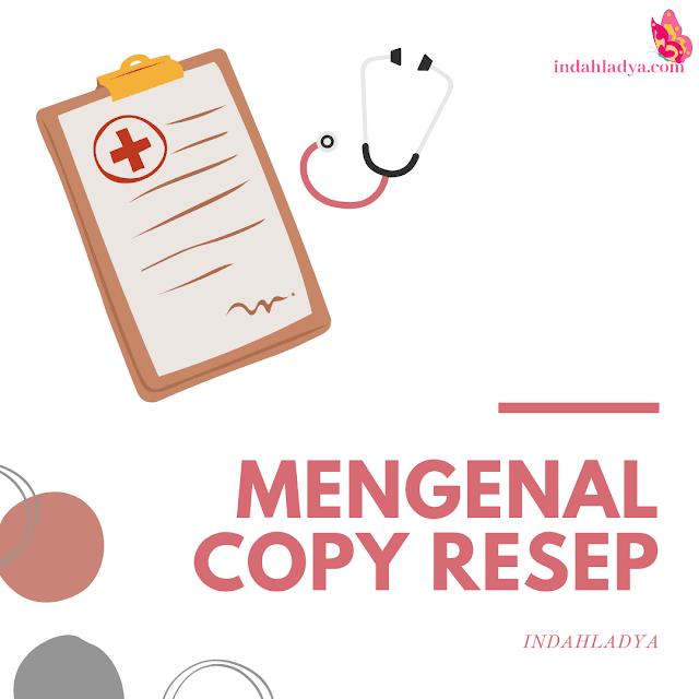 Mengenal Copy Resep