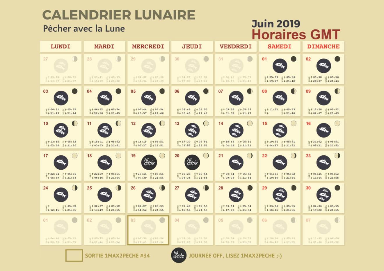 Calendrier Lunaire Juin 2020.Truites Du Haut Adour 2019