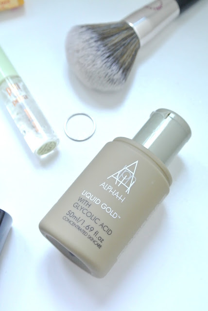 Alpha H liquid Gold review breakout acne prone skin skincare marks and spencer beauty advent 2016 2017