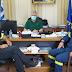 Συνάντηση Καραγιάννη με τον νέο διοικητή των πυροσβεστικών υπηρεσιών Θεσπρωτίας