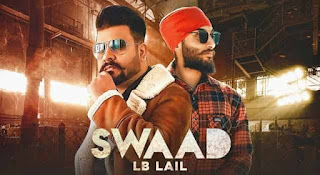 स्वाद Swaad Lyrics in Hindi - Lb Lail
