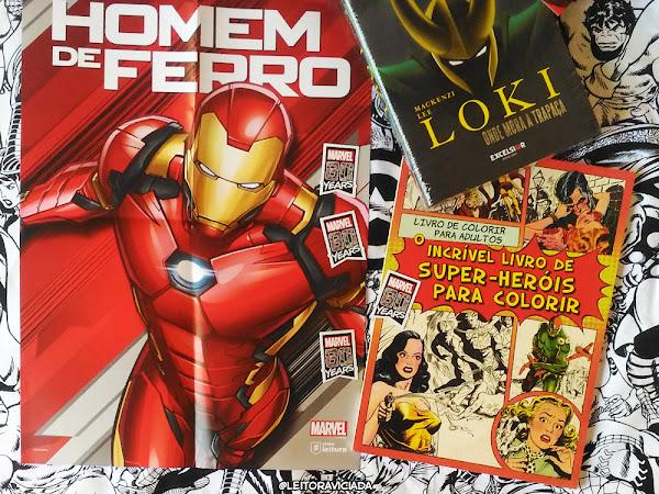 Clube Leitura Marvel #02, assinatura exclusiva dos livros Marvel!