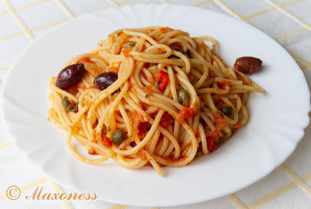 Спагетти путанеска. Итальянская кухня