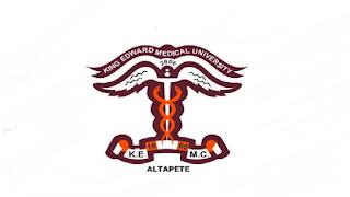 https://kemu.edu.pk/jobs - King Edward Medical University KEMU Jobs 2021 in Pakistan
