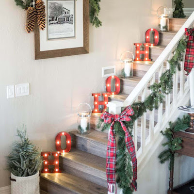 Merry Christmas Home Decoration idea
