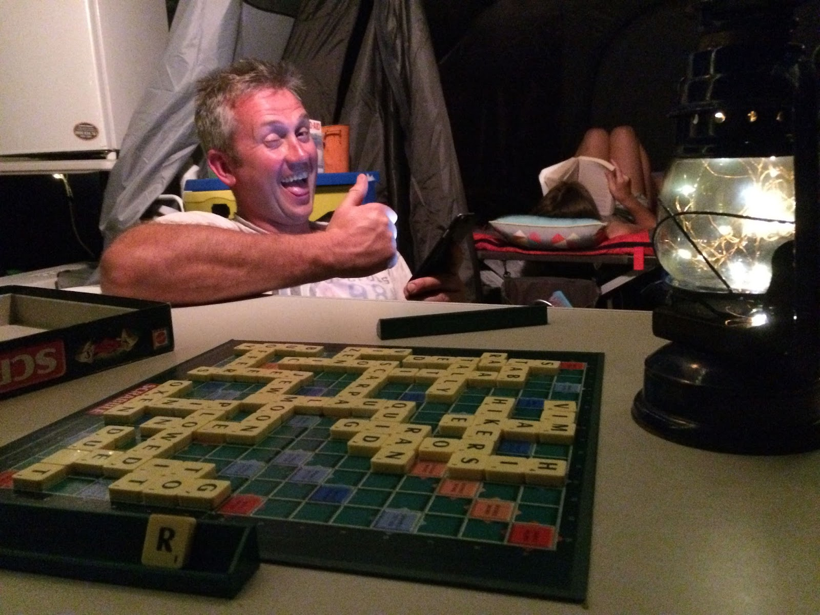 SHOCK RESULT! Geordie Grylls wins at Scrabble!