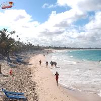 Beach of Dominican republic