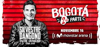 SILVESTRE DANGOND ENTRE GRANDES TOUR 2019 en Bogotá