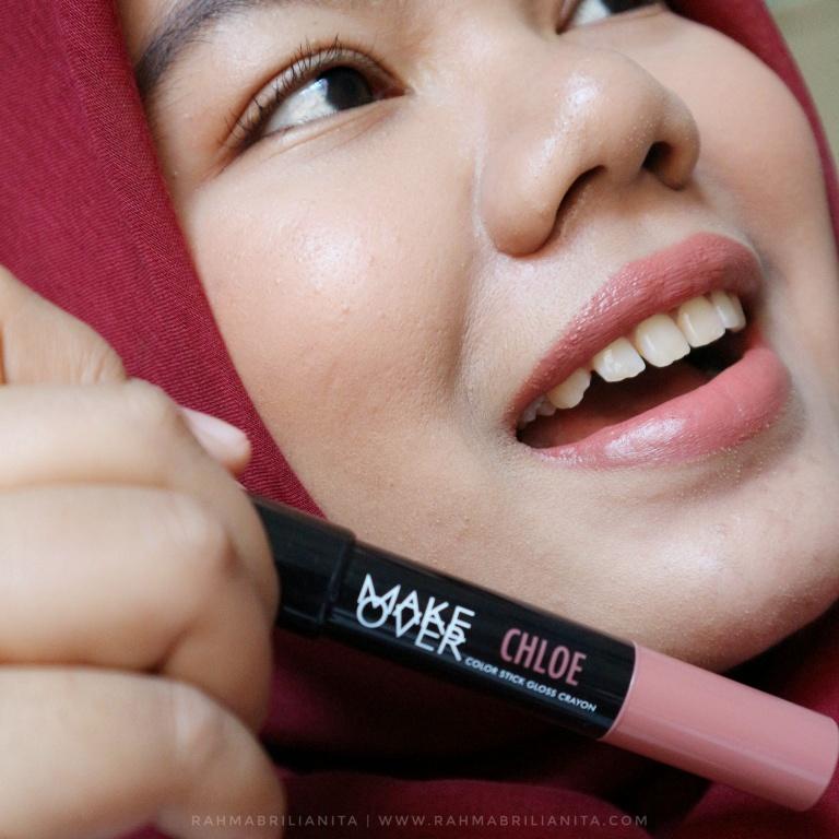 Make Over Color Stick Lip Crayon Review~ - Rahma Brilianita