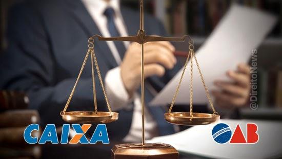 caixa oab suspender tarifas transferencia alvaras