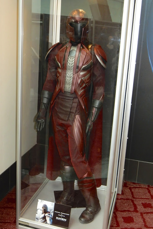 Michael Fassbender Magneto movie costume XMen Apocalypse
