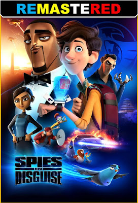Spies In Disguise 2019 DVD R1 NTSC Latino RMZ