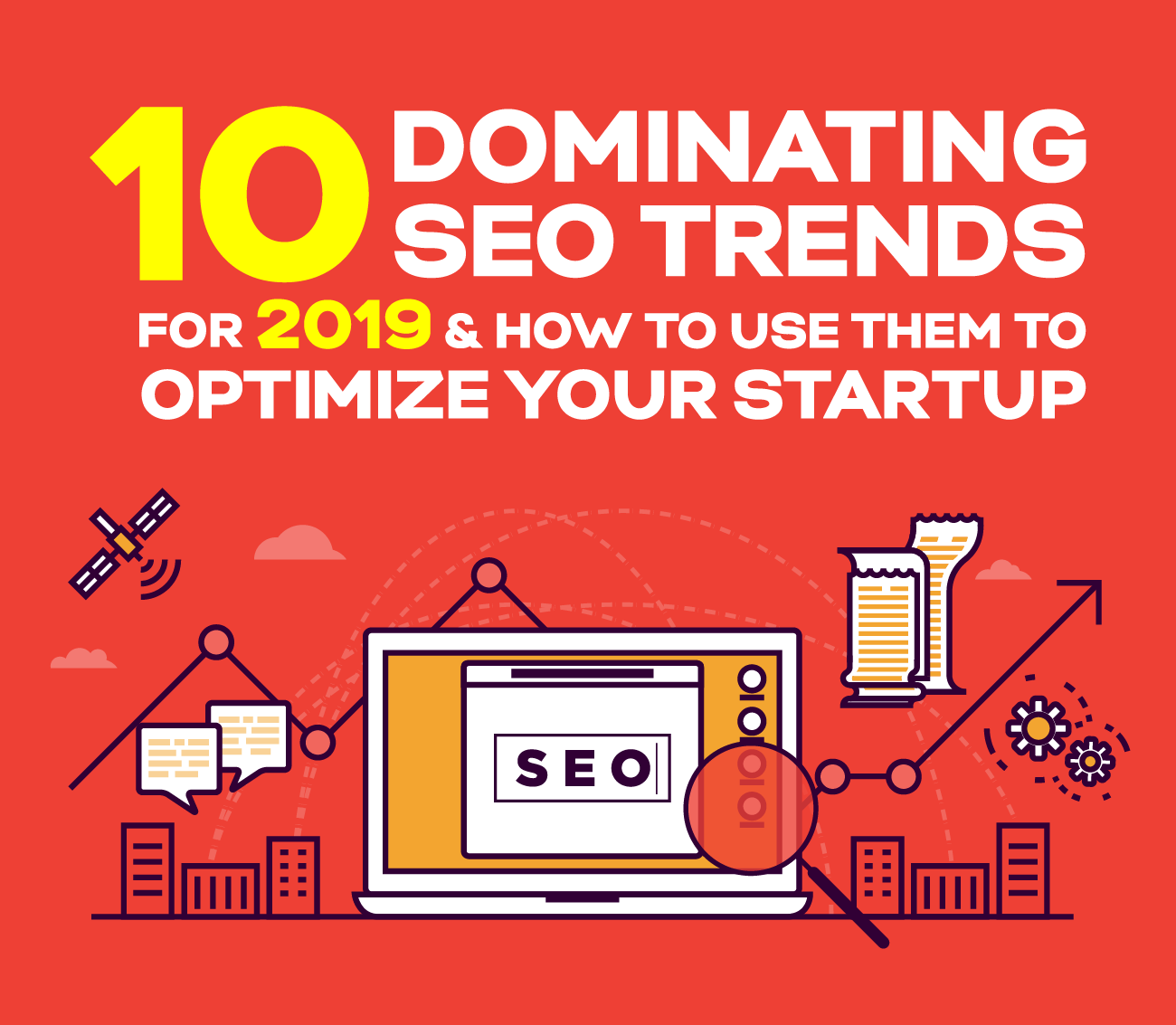 SEO Trends 2019 for Startup Success (infographic)