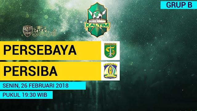 Prediksi Persebaya Surabaya Vs Persiba Balikpapan, Senin 26 February 2018 Pukul 19.30 WIB
