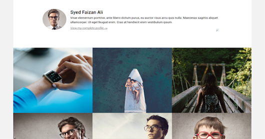 Monal Portfolio & Personal Responsive Blogger Template | Templateism