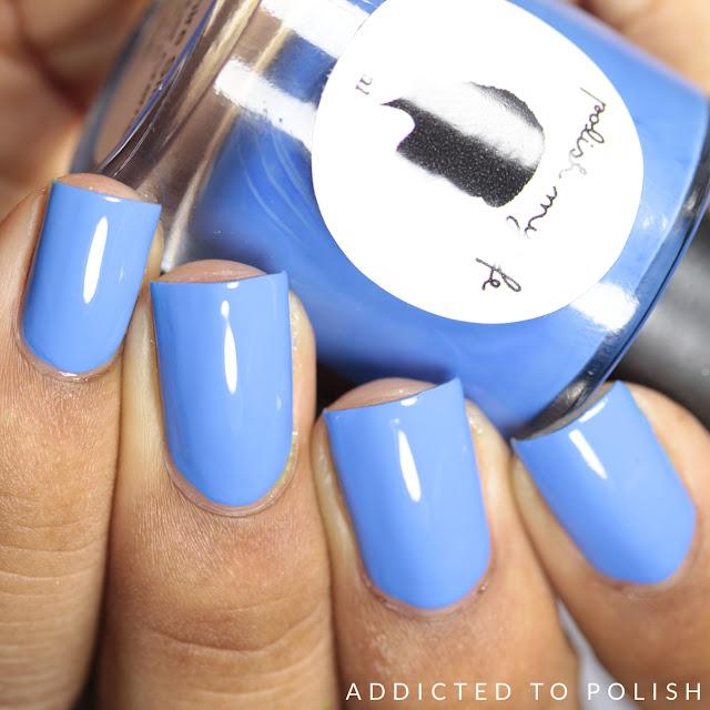 Polish My Life Sapphire Silk