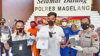 Kelabui Polisi Pengedar Sabu Ngaku Petugas BNN Diringkus Satresnarkoba Polres Magelang