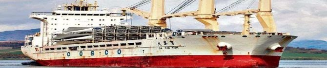 NIA Begins Probe Into Karachi-Bound Chinese Ship Found Carrying Parts Used To Make Missiles