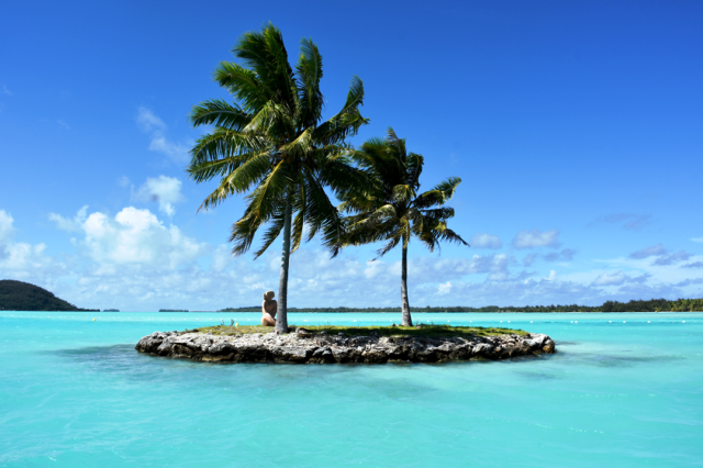 Bora Bora é uma das ilhas do Polinésia Francesa
