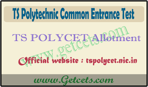 TS Polycet seat allotment order 2020-2021, web options results