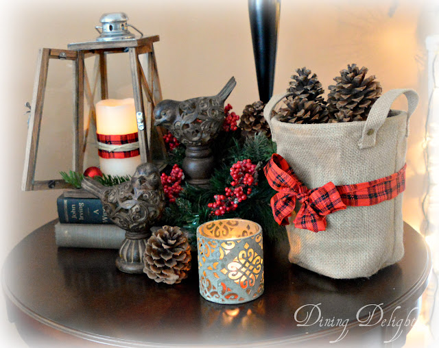 Christmas Decor For End Tables