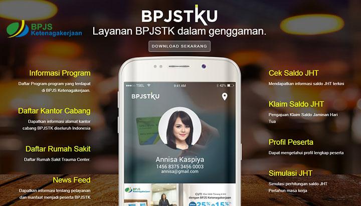 Cek Saldo via BPJSTKU Mobile