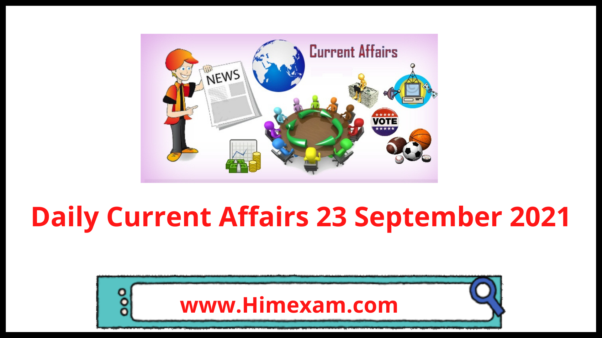 Daily Current Affairs 23 September 2021