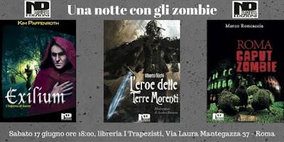 Nero Press: Una notte con gli Zombie