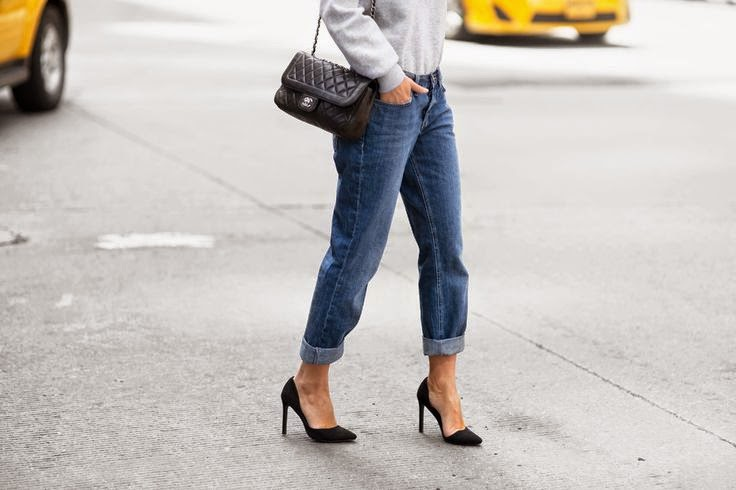 Victoria Tornegren Black Pumps Asos Boyfriend Jeans Chanel Bag