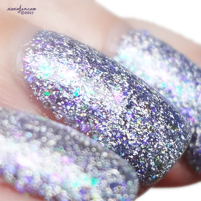 xoxoJen's swatch of Great Lakes Lacquer Polish Your Crystal Ball