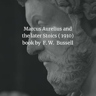 Marcus Aurelius and the later Stoics