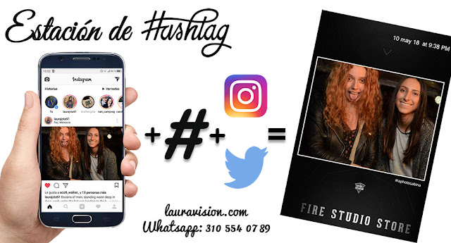 Hashtag print