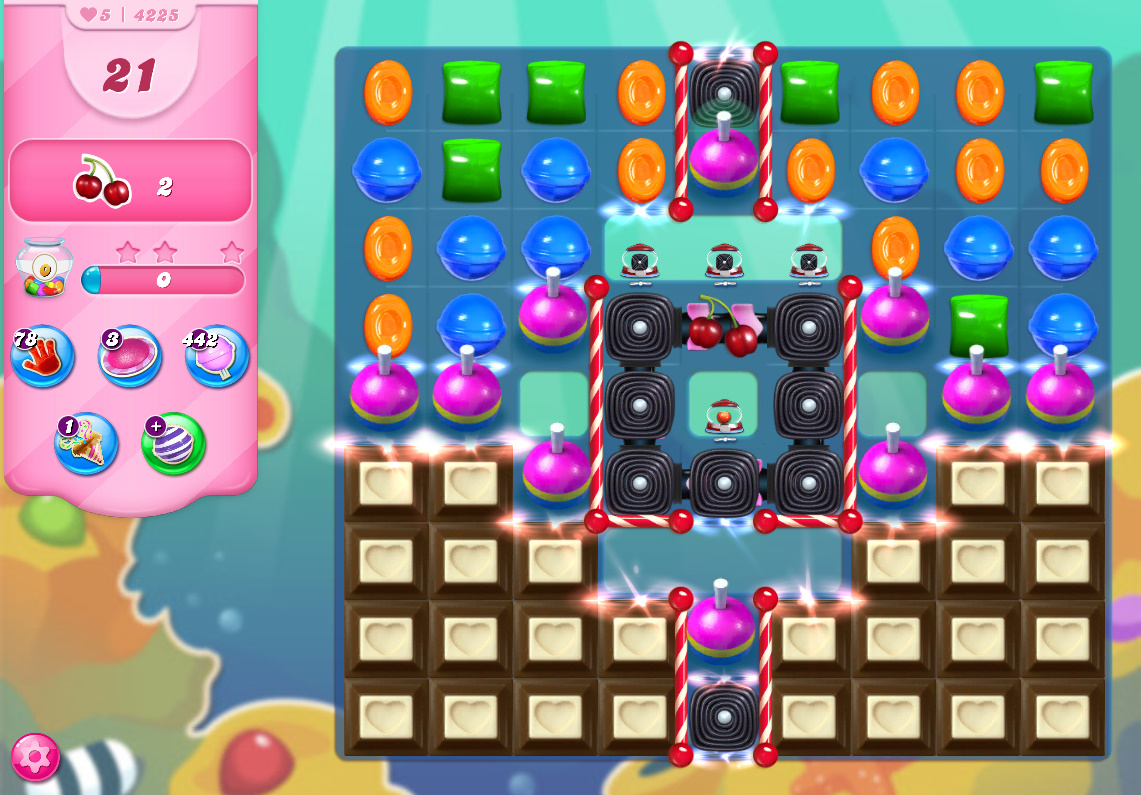 Candy Crush Saga level 4225