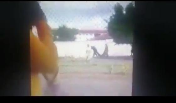 VIDEO.- Asi ingresaron Custodios a penal que provocó la muerte de cuatro internos y dejó a otros cinco heridos.