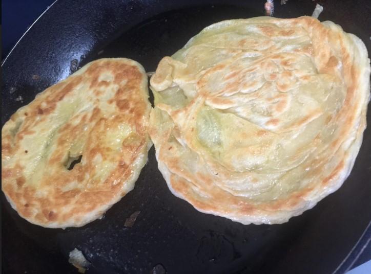 resipi roti canai, cara buat roti canai lembut, sedapnya roti canai