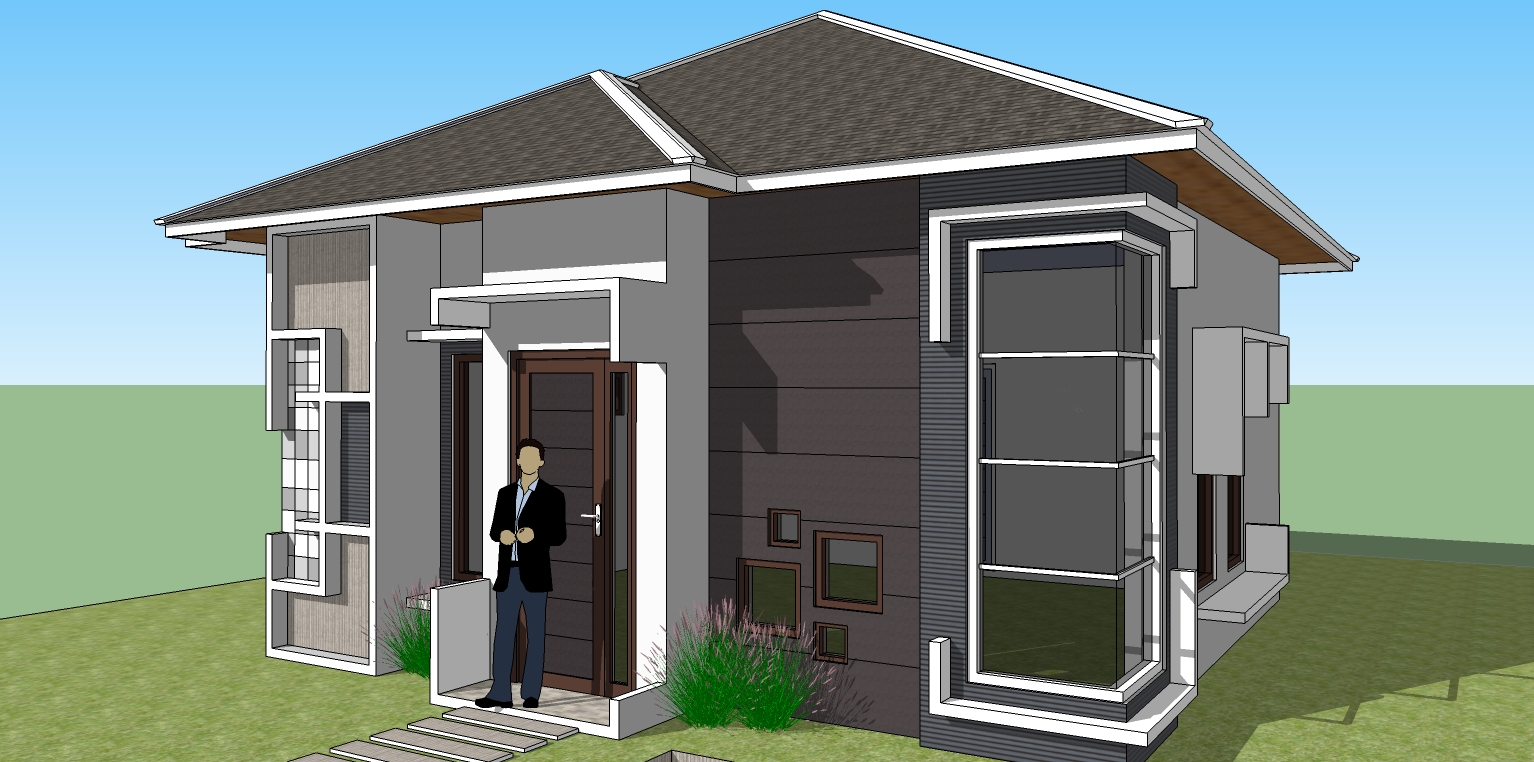 gambar rumah ideal sederhana. contoh gambar rumah yang ideal untuk