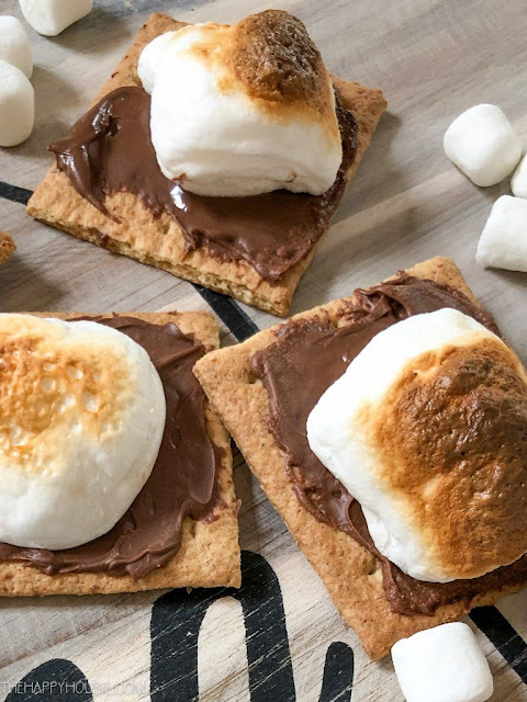 Oven Baked Nutella S'mores Recipe