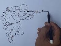 Ternyata Mudah Ya, Cara Menggambar Orang Psikotes TNI