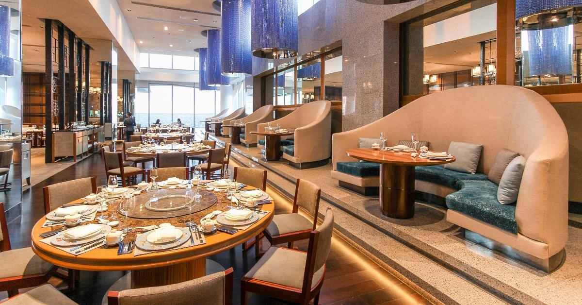 China Blue by Jereme Leung at the Conrad Manila