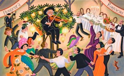 Το ξέφρενο πάρτι του Πικάσο, προς τιμήν του Ανρί Ρουσσώ