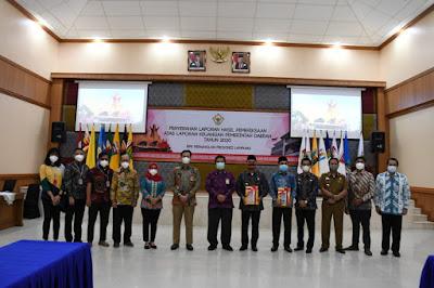 Untuk yang Ke-11 Kalinya Lampung Barat Raih WTP dari BPKR