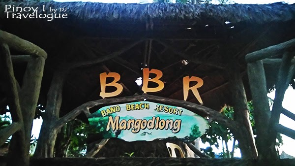 Bano Beach Resort welcome logo